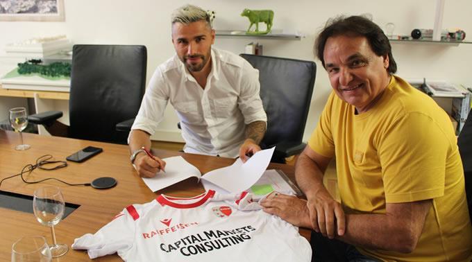 Valon Behrami hat beim FC Sion einen Zweijahresvertrag unterschrieben.