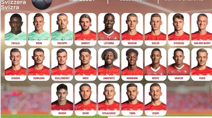 Das Aufgebot für das Schweizer Team für die U21-EM steht.
